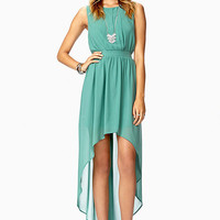 Enchanted High-Low Dress