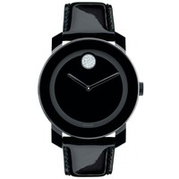 Movado Bold Large All Black Watch