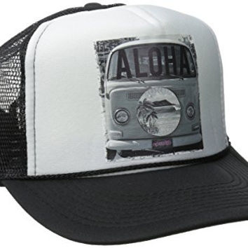 Rip Curl Junior's Passin Through Trucker Hat, Black, One Size