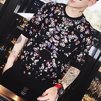 Givenchy Fashion Casual Pattern Print Shirt Top Tee