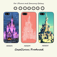 Disney,Castle,iPhone 5 case, iPhone 5C Case, iPhone 5S , Phone cases, iPhone 4 , iPhone 4S , Case,Samsung Galaxy S3, Samsung Galaxy S4