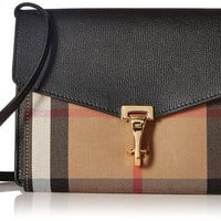 DCCKUG3 Burberry House Check Crossbody Bag 3980825