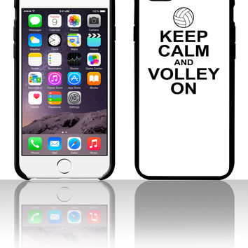 keep calm and volley on 5 5s 6 6plus phone cases