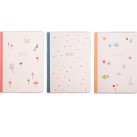 B6 ESSENTIAL NOTEBOOK 3PK: SWEET 2015