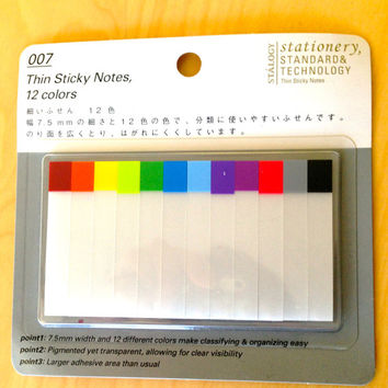 Filofax,Hobonichi sticker tabs, sticky notes,flags,sticky tabs, flags index,post it,10