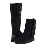 UGG black knitted boots