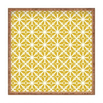 Heather Dutton Diamante Gold Square Tray