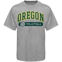 Oregon Ducks Volleyball Sports And Pride T-Shirt - Ash