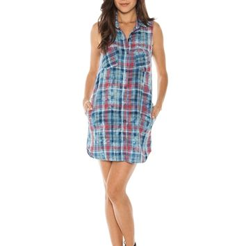 Bella Dahl Melbourne Plaid Shirt Dress | Boutique To You