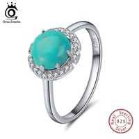 Turquoises Rings Genuine 925 Sterling Silver
