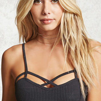 Ribbed Seamless Bralette