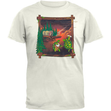 Grateful Dead - Covered Wagon Natural T-Shirt