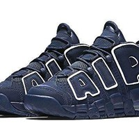 Tagre™ Nike Air More Uptempo (GS) Navy (Big Kids) Shoes