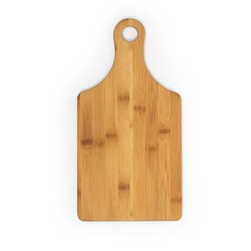 Customizable Bamboo Wine Bottle Shaped Cutting Board