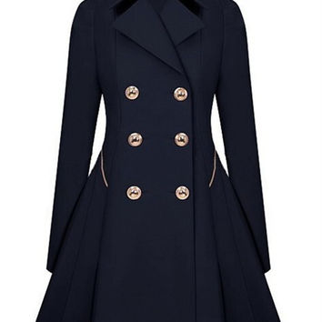 Winter Trench Coat 2016 Hot Sale Womens Coat Classic waist was thin coat Windbreaker Women Trench  Female Long Sleeve Overcoat