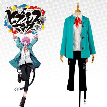 Japanese Voice Actor Division Rap Battle Fling Posse Ramuda Amemura easy R Male Men Uniform Outfit Cosplay Costume For Leisure