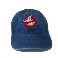 Vintage Culture Ghostbuster Patched Dad Hat In Denim