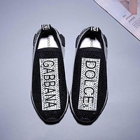 simpleclothesv  Dolce & Gabbana Fashion leisure sports shoes