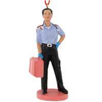 EMT Female Figure Ornament