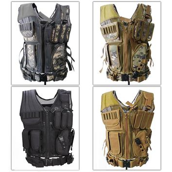 Mesh Military Tactical Vest available in 4 colors