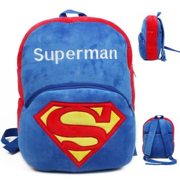 Big size Children's Gifts Kindergarten Backpack Baby Plush School Bags For Boy Girls Teenagers Kids Bag Toy mochila