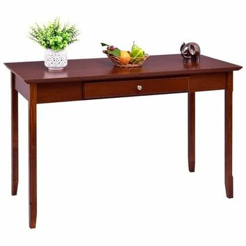 Wood Console Table Student Writing Desk