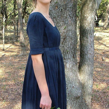 Regency Gown Jane Austen Dress CUSTOM Made For by SewManyTreasures
