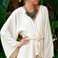 Fabulously Wrapped Romper Stone