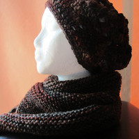 Earth - Multi-Color Hat and Scarf Set