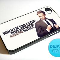 Barney Stinson Quote iPhone 4 / 4S Case