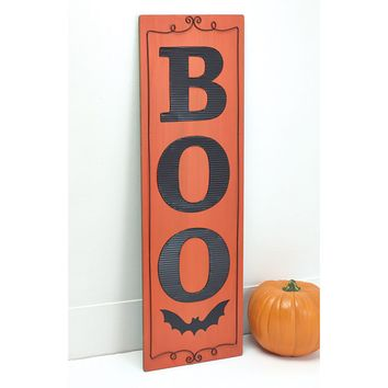Reversible BOO and Give Thanks Sign