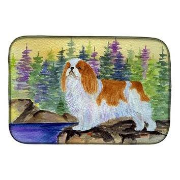 English Toy Spaniel Dish Drying Mat SS8204DDM