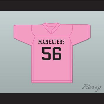Player 56 Maneaters Intramural Flag Football Jersey Balls Out