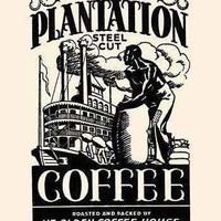 Old Plantation Steel Cut Coffee (Paper Poster)