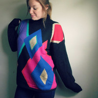 Vintage Over Sized 90s Pullover Sweater