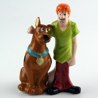 Scooby-Doo and Shaggy - Salt & Pepper Shakers