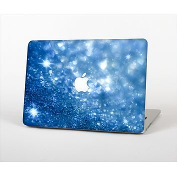 "The Unfocused Blue Sparkle Skin Set for the Apple MacBook Pro 13"" with Retina Display"