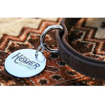 Luxury Pet ID Tag Sterling Silver