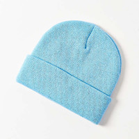Double Knit Essential Beanie   Urban Outfitters