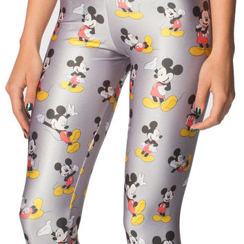 Cute Mickey Mouse Red Disney Leggings