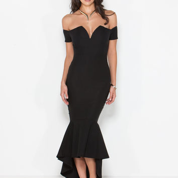 Dance Partner Off-Shoulder Dress