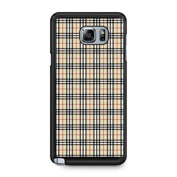 Burberry Note 5 Case