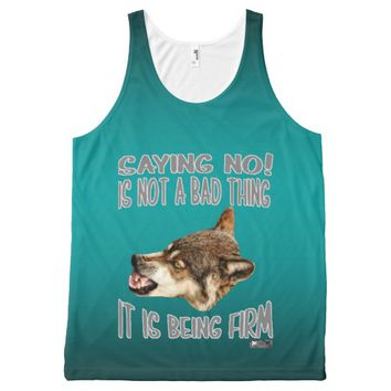 Firm Quote by Kat Worth All-Over-Print Tank Top