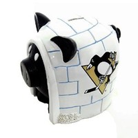 NHL Pittsburgh Penguins Resin Large Thematic Piggy Bank