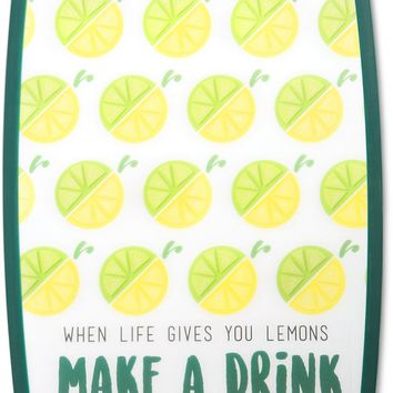 When life gives you lemons make a drink Make a Drink Cutting Board