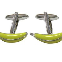 Banana Cufflinks [Jewelry]