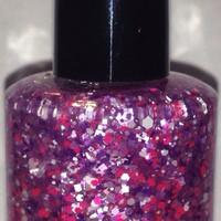 Living In Fast Forward - Handmade Glitter Nail Polish