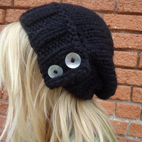 The Antoinette Slouch In Black by Nolie9238 on Etsy