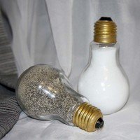 Light Bulb Salt & Pepper shaker set -  Unique and durable