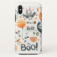 Halloween Art iPhone X Case